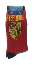 Harry Potter Gryffindor Slytherin Socks sz M/L Medium/Large (6-12) Red G... - $17.99