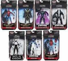 Marvel Legends Spider-man Homecoming Set of 7 Action Figures Vulture BAF - $189.99