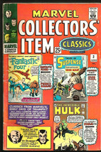 MARVEL COLLECTOR'S ITEM CLASSICS #3 FF Dr. Strange DITKO Hulk Iron Man J... - $23.24