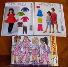 MP430 4244 M6153 Lot 3 uncut sewing Pattern child girl sizes 3 4 5 6 - $9.00