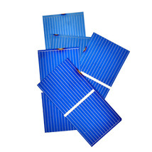 Aoshike 100Pc Solar Panel Sun Cell Sunpower Solar Cell Polycrystalline P... - $15.53