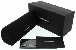 BRAND NEW DOLCE&GABANA DG EYEGLASSES SUNGLASSES BOX CASE SEALED CLOTH DO... - $42.08