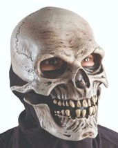Death Mask Skull Living Dead Scary Creepy Halloween Costume Party M6002 - $86.16 CAD