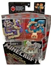 Minecraft Build A Mini Alex 161530 Redstone Series 11 Alex in Armor Wolf & Elder - $24.99