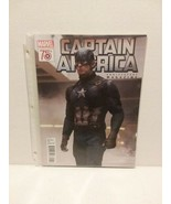 CAPTAIN AMERICA 75th ANNIVERSARY MAGAZINE - FREE SHIPPING - $14.03