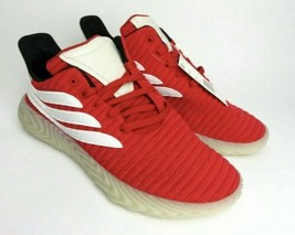 Adidas Originals Sobakov Shoes Red Off White BD7572 Mens Size 9.5 NEW Fa... - $84.15