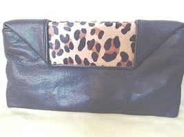 Talbot's.Calf Hair and Leather  clutch - $34.65