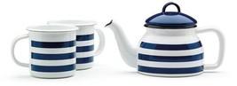 Prestige Vintage Tea Set - Blue/White, Set of 3 - $40.01