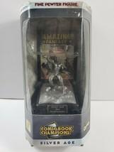 1996 Series 1 Spider Man 1962 Pewter Statue Silver Age Marvel Steve Varner - $11.88