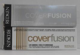 Original Redken COVER FUSION Low Ammonia 100% Grey Coverage Hair Color ~ 2 fl oz - $8.37+