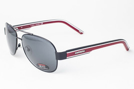 Carrera 7019 Xcede Black & Red / Gray Polarized Sunglasses 7019/S 16P - $97.51