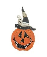 "Northlight 25"" B/O LED Lighted Pumpkin Standing Wood Halloween Decor - €28,41 EUR"