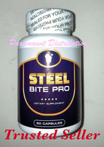 Steel Bite Pro #1 Teeth & Gums Oral Health Strengthen Pain Sensitive Cav... - $47.75