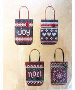 "Creative Circle 4 Mini Gift Bags Lace Net Darning Kit 3"" x 4-1/2"" Each - $14.99"