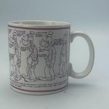 Vintage The Disney Company Applause Goofy Model Sheet Mug Character Sket... - $11.87
