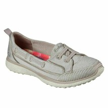 Skechers MicroBurst Topnotch Women Comfort Loafers Size US 10 Taupe - $57.82
