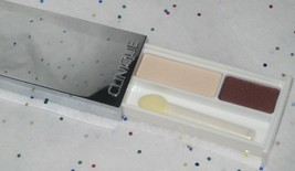 Clinique Colour Surge Eyeshadow Duo in French Vanilla and Black Honey - u/b - $17.98