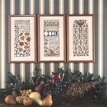 Autumn Samplers BK 66 REPRINT cross stitch chart Prairie Schooler - $10.80