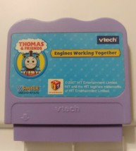VTECH VSMILE THOMAS & FRIENDS ENGINES WORKING TOGETHER LEARNING GAME CAR... - $4.94