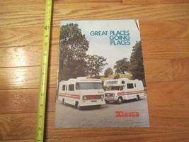 Itasca Motorhome Camping 1976 Vintage Dealer sales brochure - $14.99