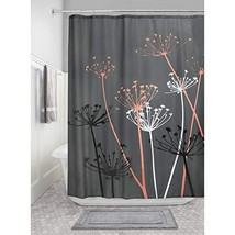 InterDesign Thistle Fabric Shower Curtain for Master, Guest, Kids', College Dorm - $16.19