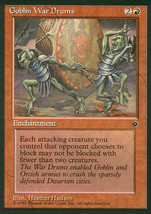 Magic: The Gathering - Fallen Empires - Goblin War Drums (B) - $0.25