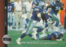 1996 Upper Deck #208 Chris Warren - $0.50