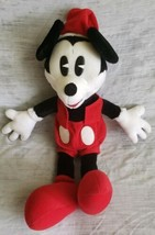 "Vintage GUND Disney Christmas Mickey Mouse Santa Plush Doll 20"" - $17.52"