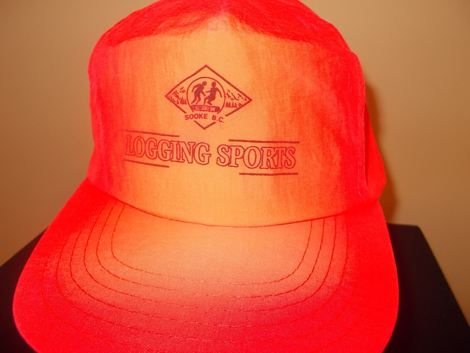 VTG-1990s All Sooke Day British Columbia Canada Logging Sports Logger Compet hat