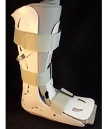 AIRCAST FP WALKER SUPPORT BOOT ANKLE BRACE Size MEDIUM Very Clean - $22.76