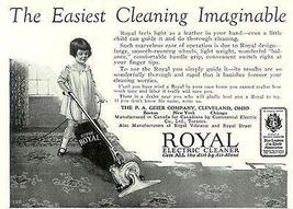 Little Girl Guides Royal Electric Cleaner 1926 Print AD - $14.99