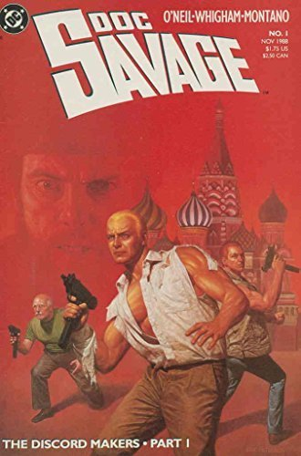Doc Savage (DC) #1 VF/NM [Comic] [Jan 01, 1988]