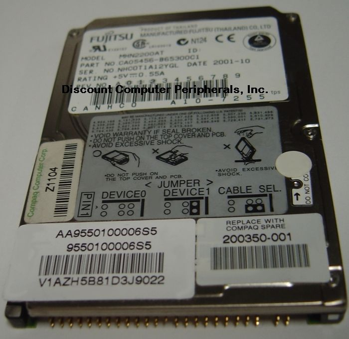 "20GB 2.5"" IDE Drive Fujitsu MHN2200AT Tested Good Free USA Ship Our Drives Work"