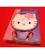 Hello Kitty Face Electronics Personal CD Player Sanrio Portable Compact ... - $33.24