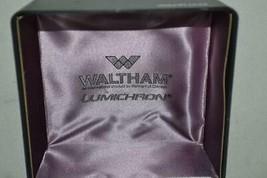 Vintage Waltham Lumichron Watch Box Case USA - $29.89