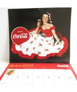 2004 Coca Cola Calendar Advertising Images 12 months - $9.95