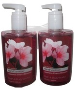 2 Bath & Body Works Anti-bacterial Hand Sanitizer 7.6 oz Japanese Cherry... - $39.99