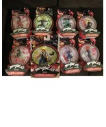 8 Miraculous Ladybug Action Figures Dolls: LADY WIFI CAT NOIR  PUPPETEEI... - $328.19