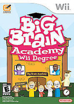Big Brain Academy Wii Degree Nintendo Wii Video Game Complete - $12.98