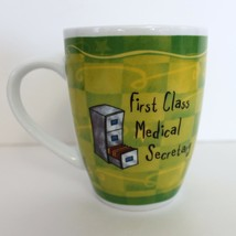 First Class Medical Secretary Coffee Mug Cup History & Heraldry Novelty ... - $15.99