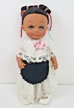 "Vintage Madame Magnon Hispanic Spanish Doll 13"" Tall Vinyl Collectible - $29.69"