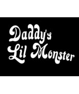 Daddys Lil Monster Harley Quinn Suicide Squad Vinyl Decal CHOOSE SIZE COLOR - $2.60+