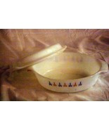 Anchor Hocking Fire King 1972 Candle Glow #433 1 1/2 Qt. Covered Casserole - $10.07