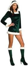 Rubies Sexy Green Helper Christmas Xmas Holiday Santa Claus Elf Womens C... - £33.68 GBP