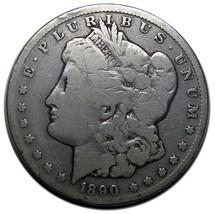 1890CC Carson City MORGAN SILVER $1 DOLLAR Coin Lot# A 704