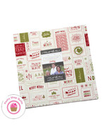 """Moda CHRISTMAS CARD Sweetwater LAYER CAKE 42 10"""" Squares Quilt FABRIC - $45.49"""