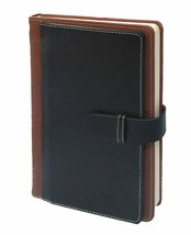 A5 Diary with PU Leather Belt Lock Pages 200 for Office   FREE SHIP - $19.79