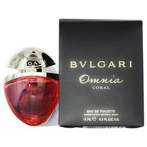 BVLGARI OMNIA CORAL by Bvlgari EDT SPRAY .5 OZ for WOMEN  100% Authentic - $25.20