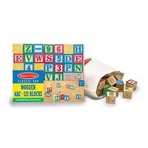 Melissa & Doug Wooden ABC/123 Blocks - $24.99