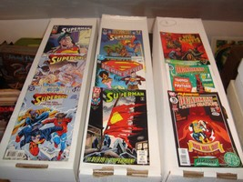 DC Comic Book Lot Of 46 FN - NM Condition Heavy On Batman / Superman - $31.84